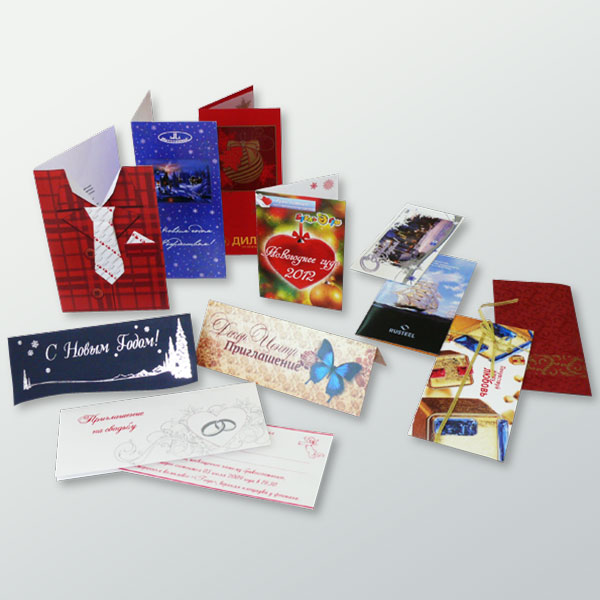 Postcards and invitations